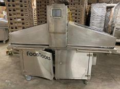 Food Tools Model ACC-10USRW Ultrasonic Cake Cutter - Air-operated automatic ultrasonic cutter --
