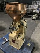 Carle and Montanari R1/U Center Filler - 1 HP, 3 phase, 60 cycles, 220/380 volts - Serial #15077.