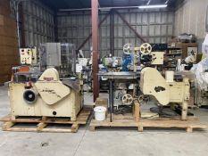 "Latini Model HLM-1 High Speed Lollypop Machine - 24 Station Rotary die - 1-1/8"" x 7/8"" oval flat pop"