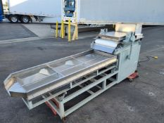 Nut Chopper with Vibratory Sieve Separator - Up to 440 lbs/hr - Can produce from large pieces to