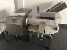 """Excel Packaging Stainless Steel Metal Detctor 11.5"""" wide x 3"""" tall opening - Model MD3-3010 - 10"""""""