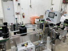 Chicago Automated Labeler for spot or wrap label - $2,500 (includes skidding & loading)