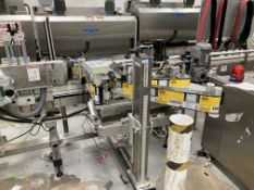Label-Aire Model 3135-3500 7/20 RH ZDT wipe on labeler serial number 0336501112 - Rigging $3,000 (