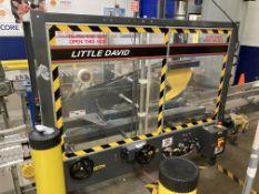 Little David (Loveshaw) Model LD16A/SB/MI S/N 391623500 heavy duty top and bottom case sealer