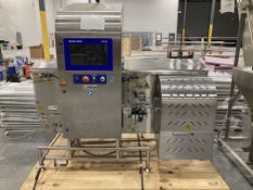 """Safeline model X3604 Serial # X12206201 Opening 17"""" wide x 12"""" tall X-ray machine 1/60/220v -"""