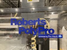 Roberts Poly Pro Ser# 2233X-1/2233 bottle neck ring installer does a bundle of 4 bottles in a neck