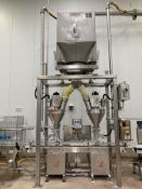 (2) All-Fill Single Head Auger Fillers with PLC controls