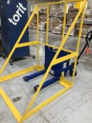 Tote mover (modified pallet jack) with manual movement but battery powered tilt - Rigging $500 (