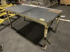 Carbon Steel 3 x 6 ft Water Cooled Table