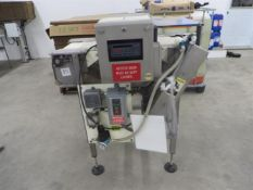 """Loma Superscan Micro Metal Detector - 12"""" wide x 3"""" tall opening - 8"""" wide x 36"""" long conveyor"""