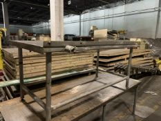 """Stainless Steel 3 x 6 ft Water Cooled Table - 6' long x 3' wide x 32"""" high - Water jacketed. Located"""