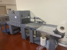 """Heat Seal Equipment L-Bar Sealer with 16"""" x 20 sealing area with discharge belt with Heat Seal"""