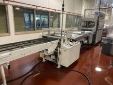"Prefamac 24"" Enrobing Line with 6-ft long wire mesh belt infeed conveyor, Sollich BEM 620 mm pre-"