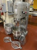 Hobart model M802 80-quart vertical mixer, 4-speed, timer, 3 HP, 3 phase, 60 cycle, 200 volt motor
