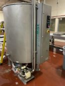 Prefamac 2000 kg Stainless Steel Chocolate Melter with agitator and water jacketed with electric