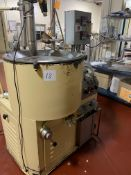Sollich ST750K 750 kg/hr tempering unit, screw type, water jacketed and cooled. Serial#0428, built