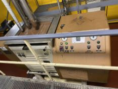 Sollich UT500-F 500 kg/hr screw type tempering unit with built-in freon compressor, temperature