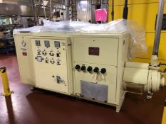 Carle Montanari Tan 25 Screw Type Tempering machine - 3 stage tempering unit - Water Cooled