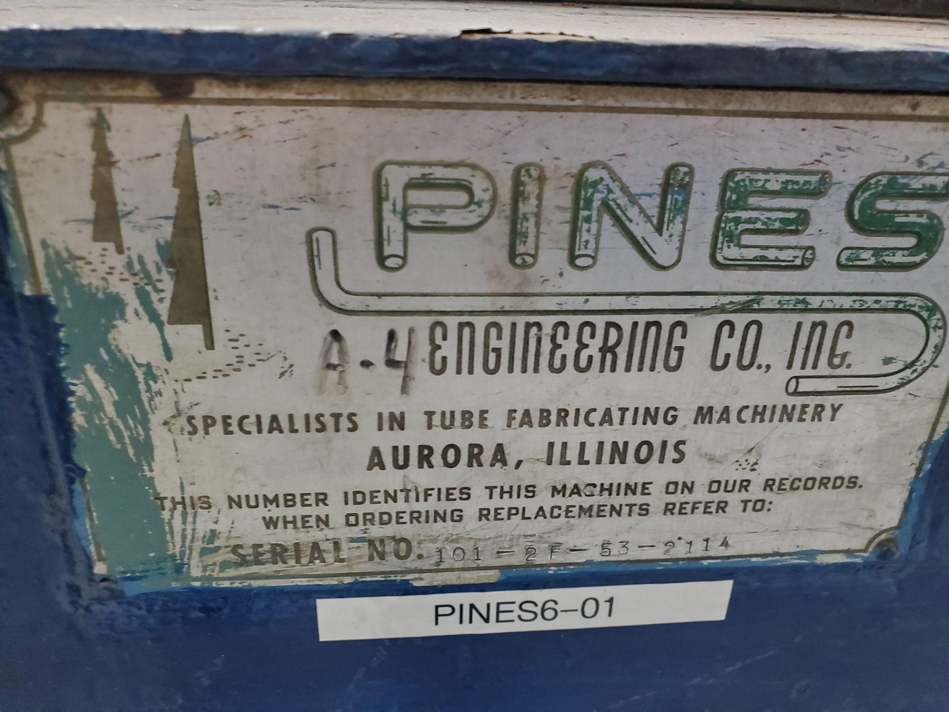 """# 4 Pines Tube & Pipe Bender, 6"""" Cap S/N 101-2F-53-2114 - Image 3 of 47"""