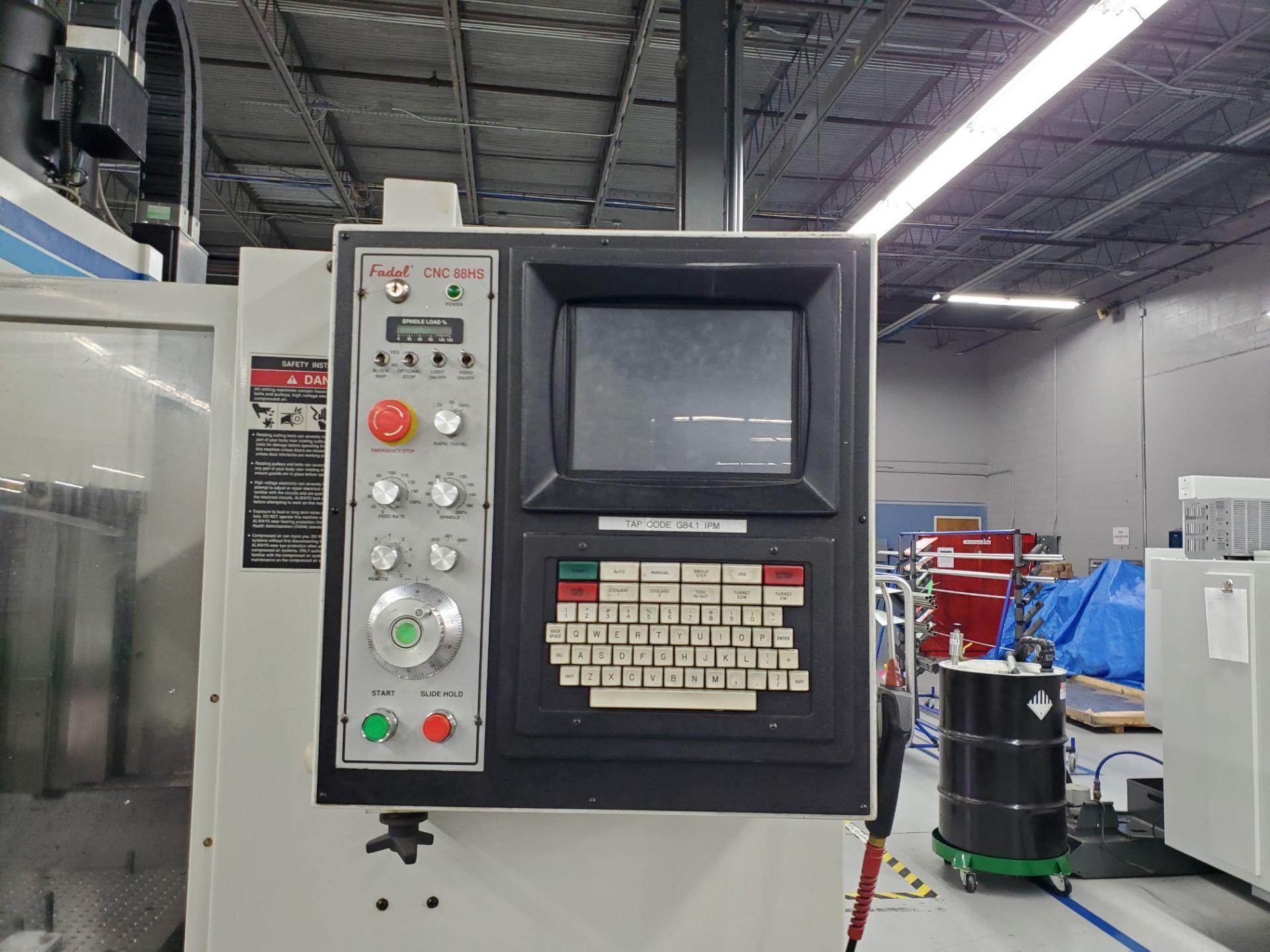 Fadal CNC Vertical Machining Center Model 4020 - Image 4 of 18