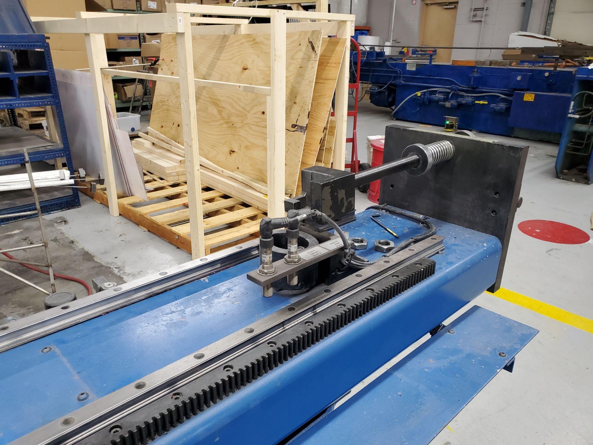 CNC Eaton Leonard Tube Bender Model VBCE25, S/N 25RH 8606761PC12/08, New 2008 - Image 16 of 18