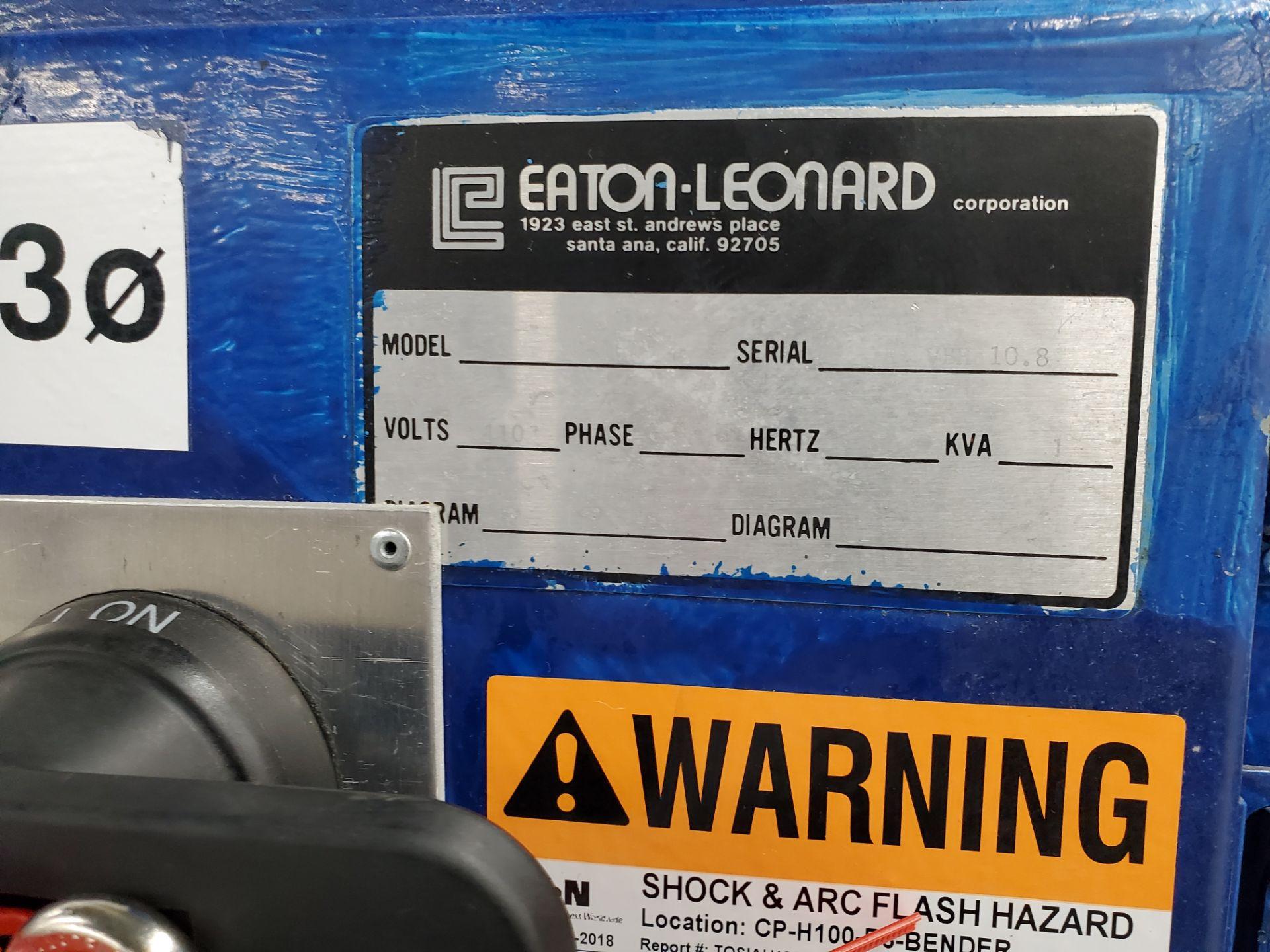"""Model H 100 Eaton Leonard Tube Bender 1"""" Cap S/N VBH 10.5 - Image 18 of 18"""