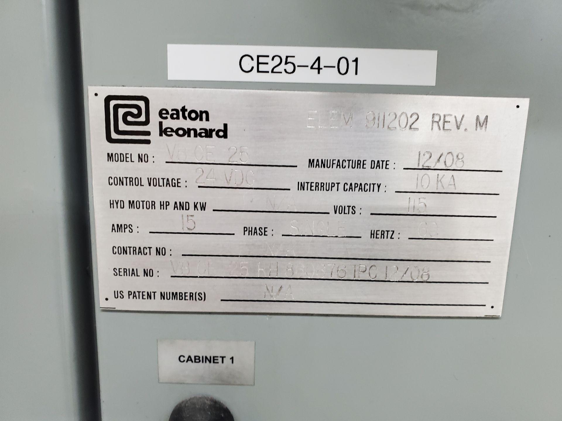 CNC Eaton Leonard Tube Bender Model VBCE25, S/N 25RH 8606761PC12/08, New 2008 - Image 4 of 18