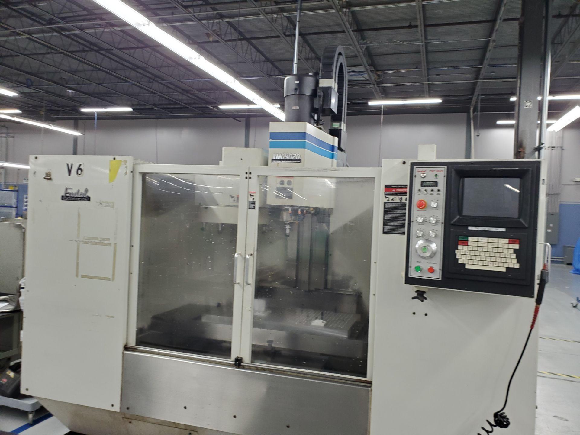Fadal CNC Vertical Machining Center Model 4020 - Image 3 of 18