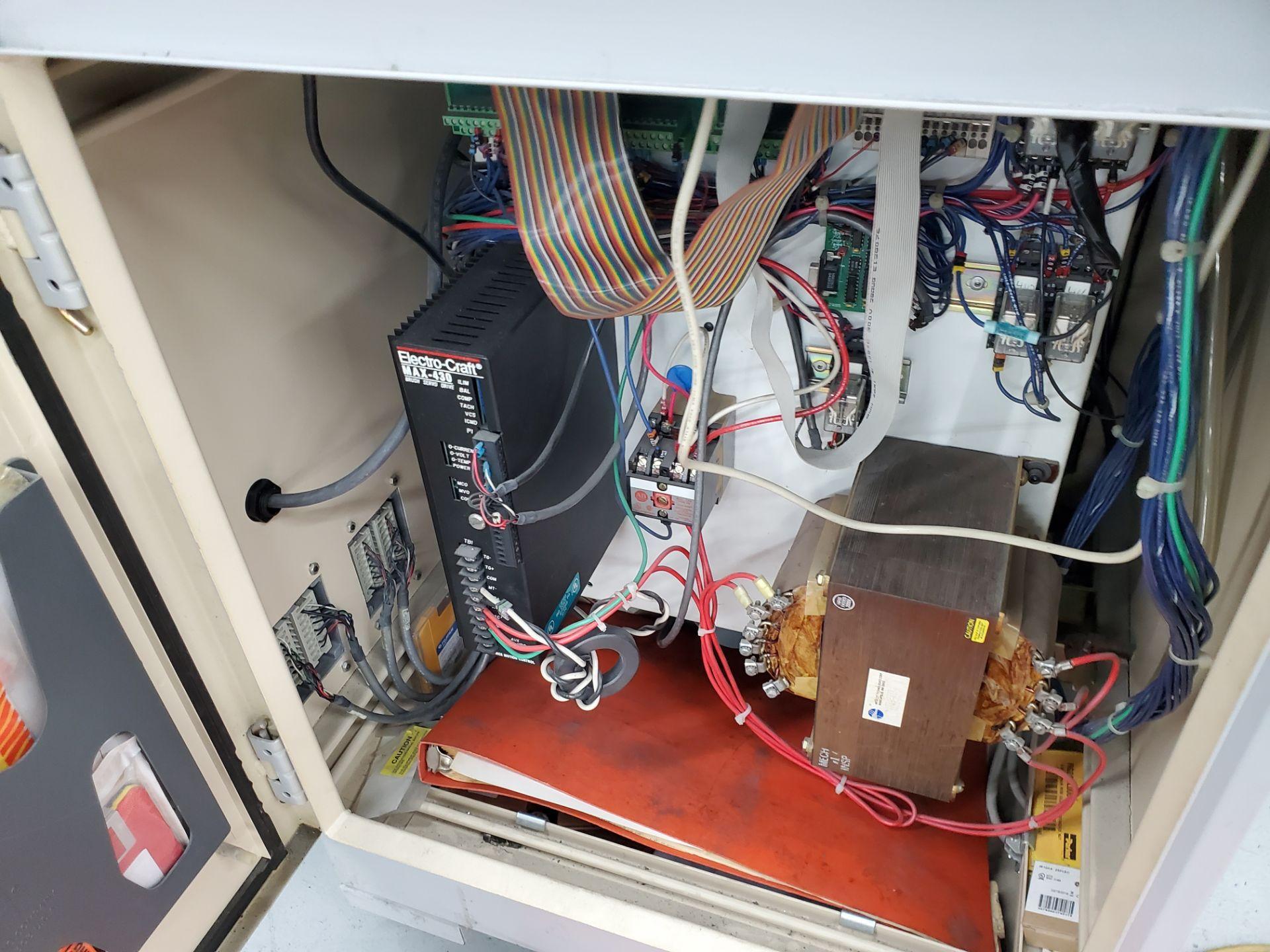 CNC Model VB75 Eaton Leonard Tube Bender , S/N VB75-56-GR - Image 9 of 12
