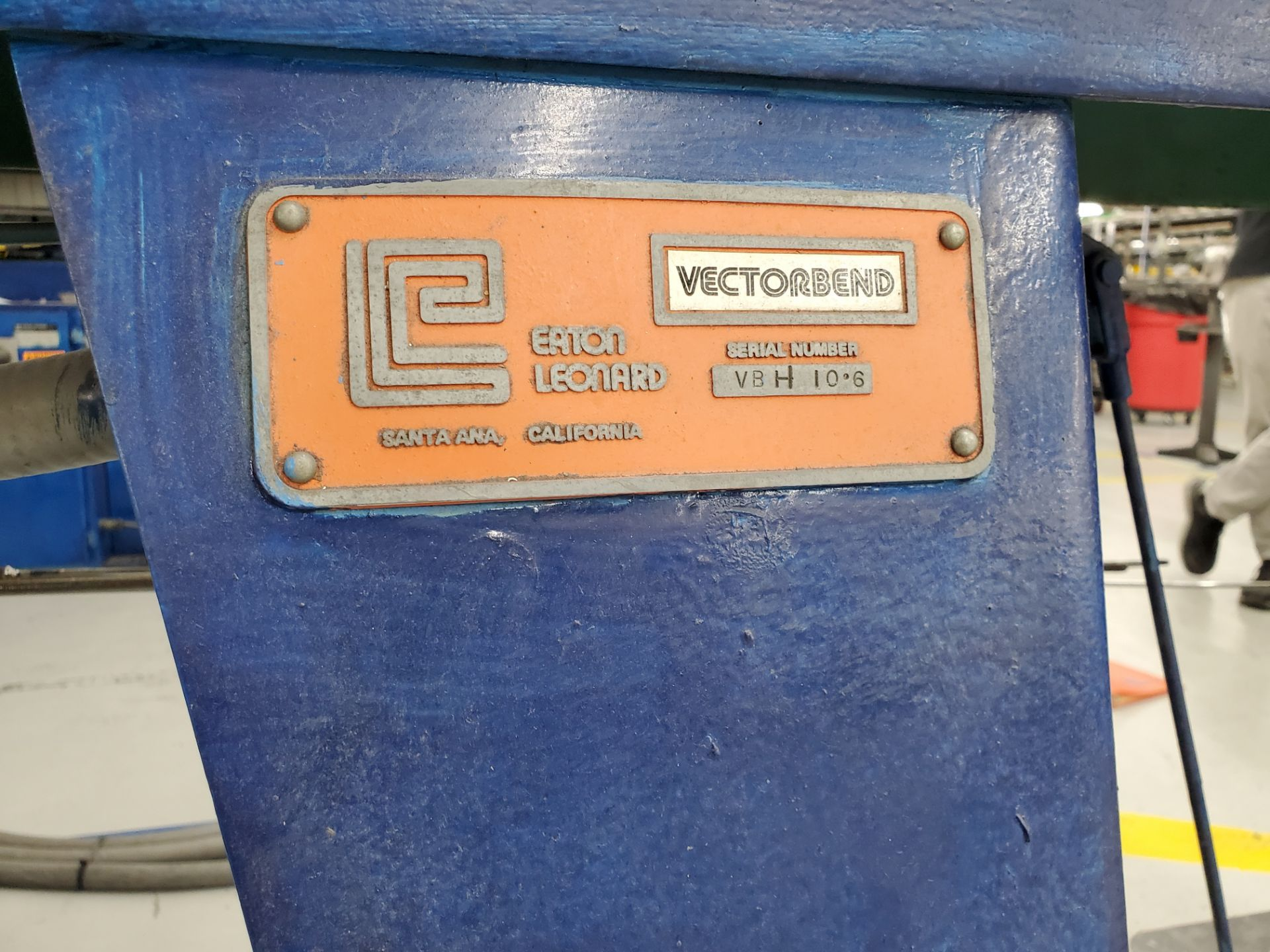 """Model H100 Eaton Leonard Tube Bender 1"""" Cap, S/N VBH 10.8 - Image 3 of 14"""