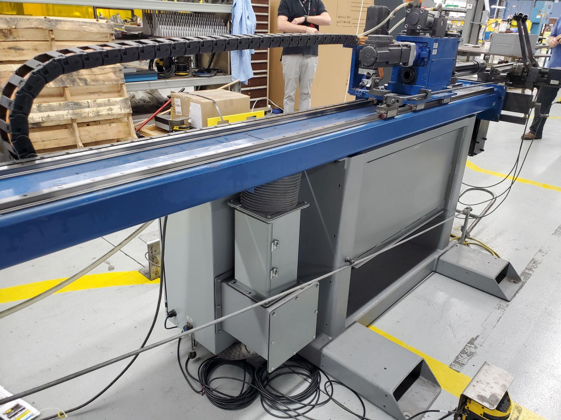 CNC Eaton Leonard Tube Bender Model VBCE25, S/N 25RH 8606761PC12/08, New 2008 - Image 12 of 18