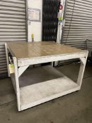 WHITE WORK TABLE