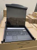 LCD KVM 8 PORT SWITCH RPC-008 6X