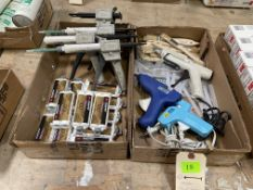 ASST GLUE GUNS & ADHESIVE GUNS, BRUSHERS 2X