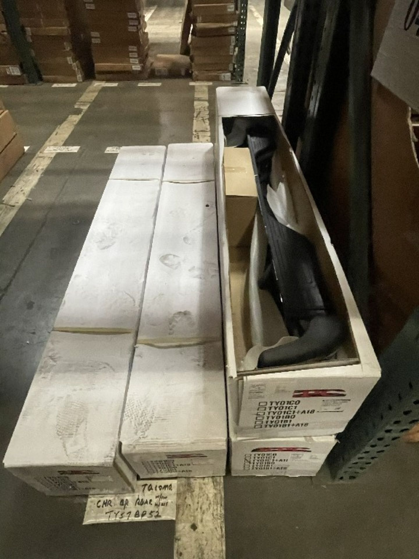 (2 SECTIONS) ASST REAR BUMPERS TACOMA - Image 3 of 3