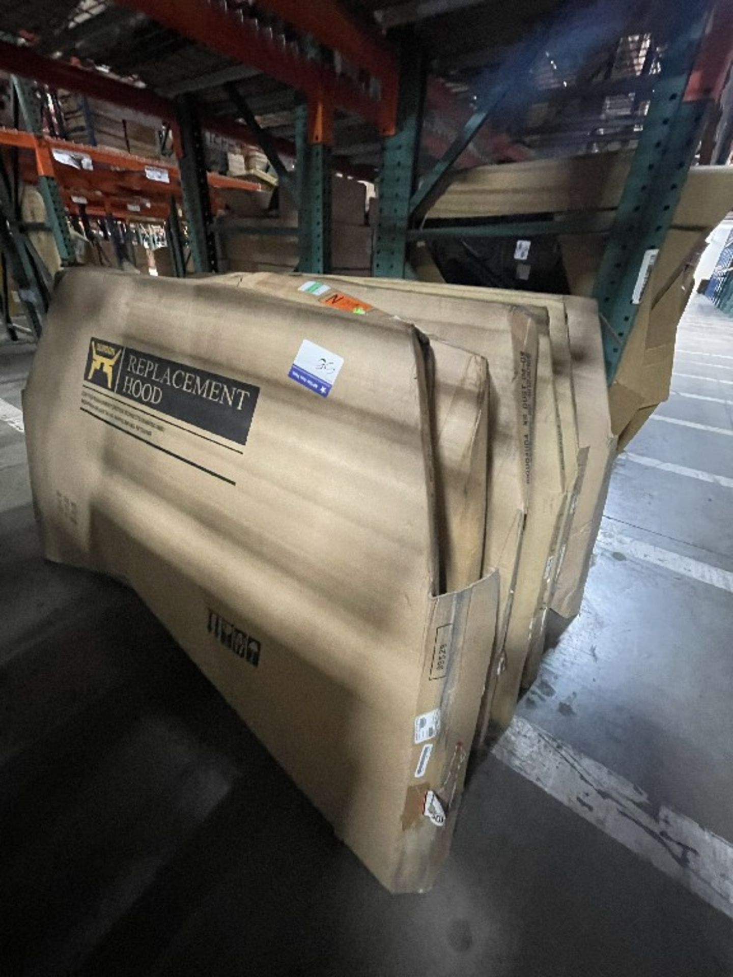 (6 SECTIONS) ASST NISSAN QUEST 350 CUBE HOODS - Image 2 of 3