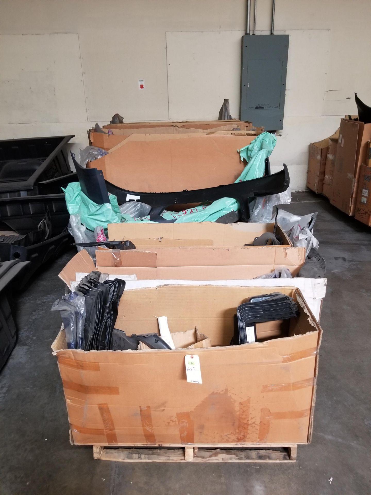 ASST BUMPERS/ SPLASH SHIELDS 4 PALLETS