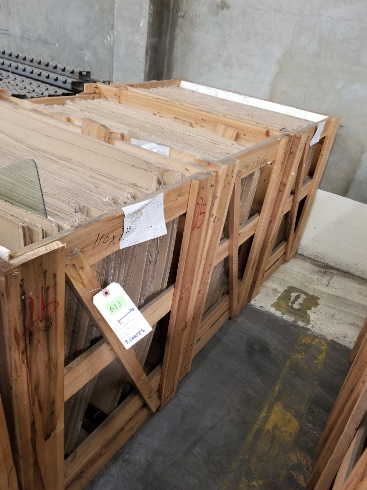 ASST SIDE DOOR GLASS FORD TAURUS02 HONDA01 3X