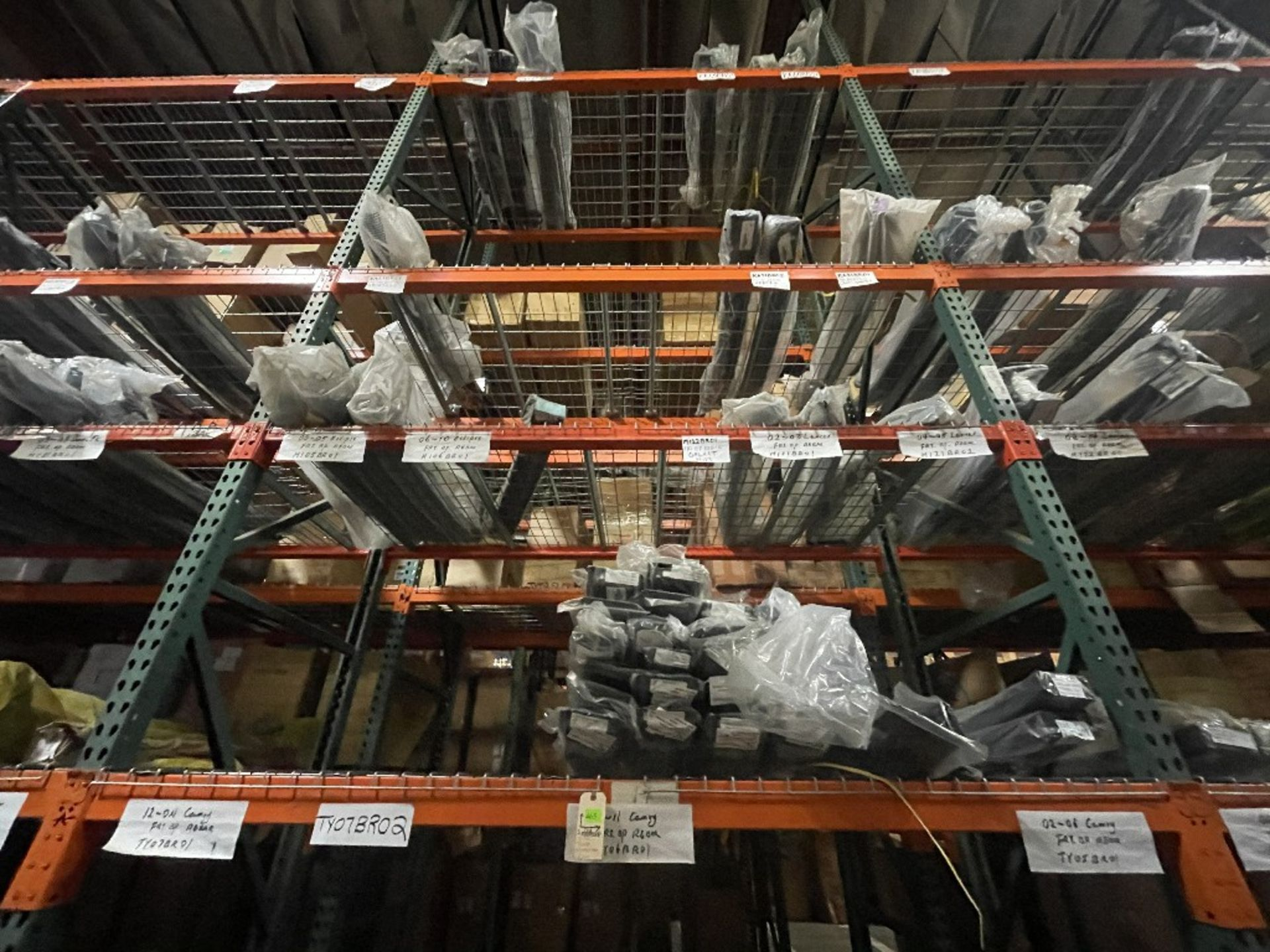 (TOP 3 SECTIONS) ASST REBARS CAMRY, ECLIPSE & +