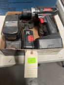 DRILL MASTER CORDLESS DRILL , CHARGER & BATTERIES
