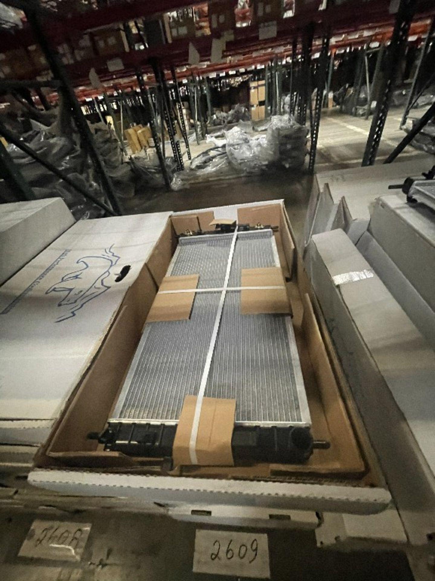 (1 SHLF & FLOOR) ASST RADIATORS DPI-2608, 2609 & + - Image 2 of 3