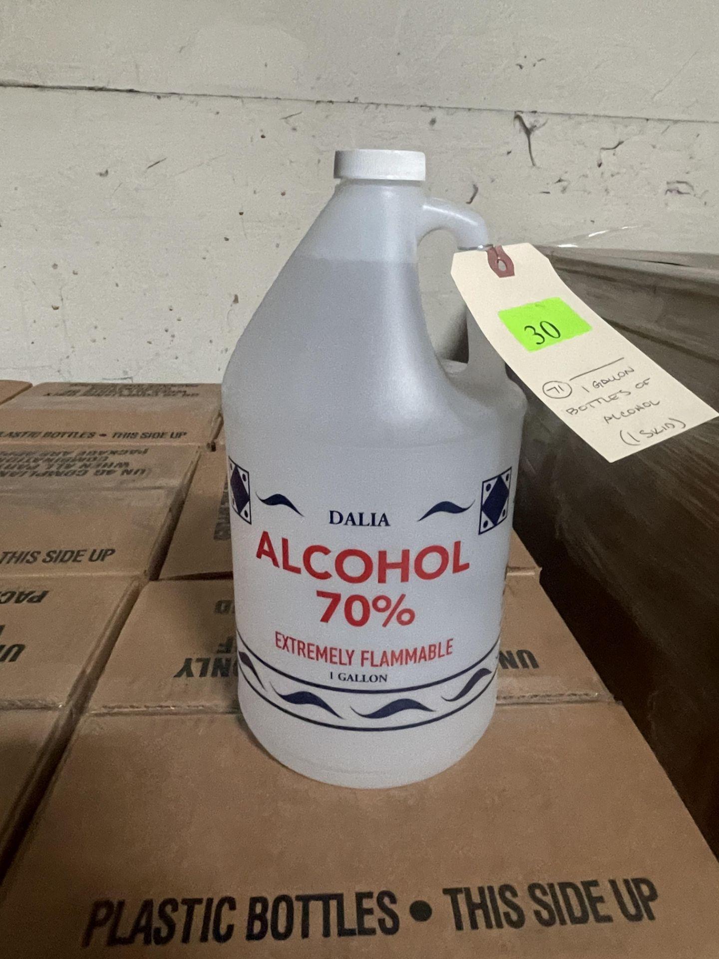 1 GALLON BOTTLES OF ALCOHOL 1 PALLET