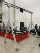 1 Ton Portable A-Frame Gantry Crane