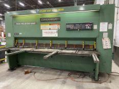 "Cincinnati Model 500, 1/2"" x 10' Hydraulic Plate Shear, CNC Swing-up Backgauge, 82"" Squaring Arm"