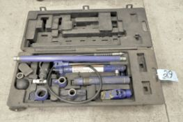 Westward Portable Hydraulic Pump System with Attachments and Case