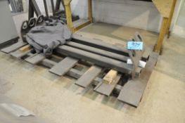 Lot-(3) 6' Long Hollow Tube Hoist Spreader Bars on (1) Pallet, (Bldg 2)