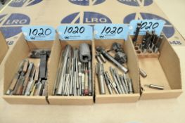 Lot-Boring Bars, Reamers, Counterbores and Mill Boring Bars in (4) Boxes
