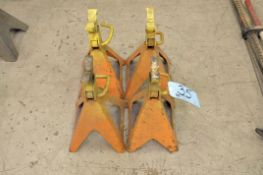 Lot-(4) Jack Stands, Orange, (Bldg 1)