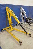 Wilmar 2-Ton Capacity Portable Gooseneck Crane, (Bldg 1)