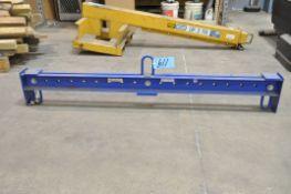 Vestil Model SBM-25, 2,500-Lbs. Capacity 2-Point Crane Hoist Spreader Bar